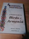 Adamian, M S & Klem, D - A field guide to  the birds of Armenia