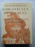Rabelais - Gargantua en Pantagruel . Met illustraties van Gustav Doré