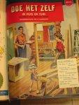 Zondervan, R, en G.Kromdijk / illustraties omslagen zeer fraai - Doe het Zelf in huis en tuin / Map met 16 nummers 1957 (October en December) t/m 1959 (Maart) Maandblad