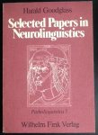 Harold Goodglass - Selected papers in neurolinguistics   serie(Patholinguistica)