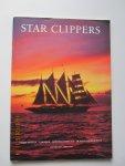 """Star Clippers - Brochure Jan. 2001 - April 2002 . Cruises a/b van de grote zeilschepen: """"Royal Clipper""""  •  """"Star Clipper""""  &  """"Star Flyer"""" naar talrijke zonnige bestemmingen."""