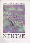 - Ninive. Literair/Poëzie tijdschrift,1996 jaargang no 1.