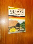 red. - Berlitz German for travellers.