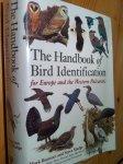 Beaman, Mark & Madge, Steve - The Handbook of Bird Identification for Europe and the WP
