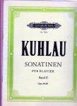 Kuhlau, Frederich Sheet musik - Sonatinen fur Klavier Band II  Op. 60, 88 Sheetmusic
