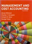 Bhimani A. Horngren C.T. Datar A.M. Foster G. - Management and cost accounting