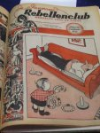 Diversen - Panorama Rebellenclub weekblad voor de jeugd derde jaargang no. 30 1952 t/m no 07 1953