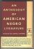 an anthology of american ne...