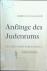 Glatzer, Nahum N. - Anfänge des Judentums