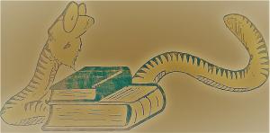 Logo Bert Boekenwurm