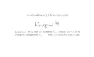 Logo Boeken Knooppunt 44
