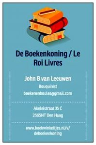 Logo De boekenkoning