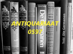 Afbeelding van Antiquariaat 0597
