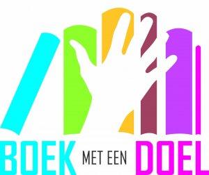 Logo Boek met een Doel
