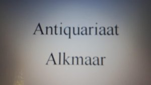 Logo Antiquariaat Alkmaar