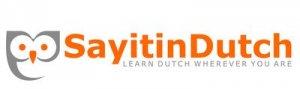 Logo Say it in Dutch