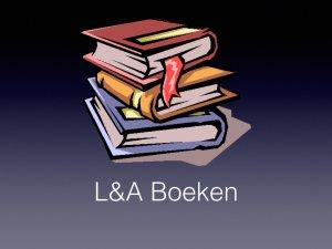 Logo L&A Boeken